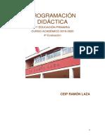 Programación Didáctica 1º Ep 4º Evaluación