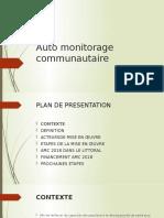 Auto monitorage communautaire.pptx