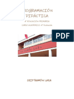 Programación Didáctica 4º Ep 4ª Evaluación