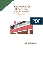 Programación Didáctica 6º Ep 4ª Evaluacion