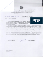 ANSP Catre Litera Raspuns Expertiza Repetata Manuale