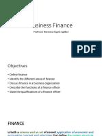 Finance 1 Understanding Finance