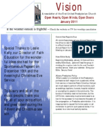January 2011 FUPC Newsletter