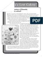 America's Lost Colony Nonfiction Passage and Short Test.pdf