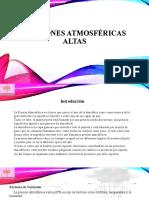 Presiones atmosféricas altas Powerpoint
