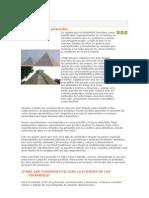 Secretos de las Pirámides
