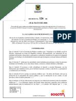 Decreto Alcaldía de Bogotá