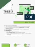 thesis prsenataion