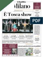 La Repubblica Milano 8 Dicembre 2019