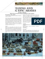 Epic Articles - Buildling and Using Armies