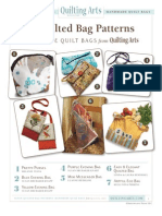 Seven Quilted Bag Patterns