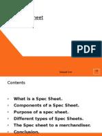 The Spec Sheet
