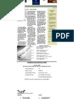 January 2011 Web Newsletter