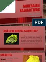 Minerales radioctivos ,,