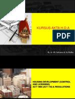 1. HDA act 2013