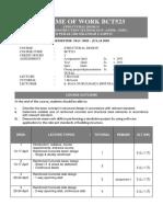 BCT523 SOW Mac 2020- Julai 2020
