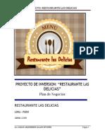 """[PDF] PLAN DE NEGOCIO_ RESTAURANTE """"LAS DELICIAS"""".docx"""