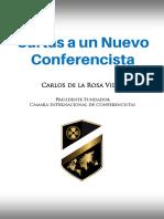 Carlos de La Rosa Vidal - Cartas a Un Nuevo Conferencista