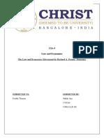 Law and Economics CIA3.docx