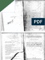 Pontes de Miranda - Os Fundamentos Actuaes Do Direito Constitucional