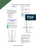 Teoria y Problemas de La Funcion Cuadratica Ccesa007