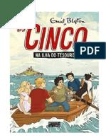 Os Cinco na Ilha do Tesouro - Enid Blyton