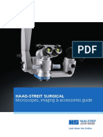 Haag-Streit Surgical microscopes, imaging & accessories guide