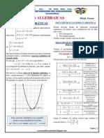 Teoria y Problemas de Ecuaciones Cuadraticas EC54 Ccesa007