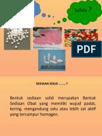 Materi tentang tablet