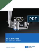 HS Hi-R NEO 900 brochure