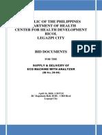 Posting HFEP ECG Machine Mar 31, 2020 prebid ace Final