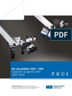 HS ALLEGRA 500 / 700 brochure including datasheet