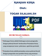 Perjanjian Kerja by Togar Silalahi