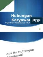 Hubungan Karyawan by Diyah Hayu Rahmitasari