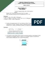 Ficha de trabalho n.2 - Hidraulica