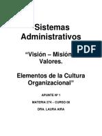 Vision Mision Valores Cultura