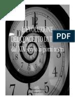Il concetto di tempo 2