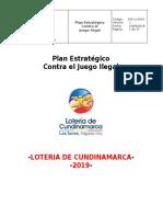 Plan Estratégico de JUEGO ILEGAL - LOTCUNDI 2019 - (revisión2).docx