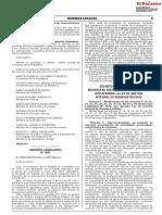 DECRETO LEGISLATIVO QUE MODIFICA EL DECRETO LEGISLATIVO Nº 1278, QUE APRUEBA LA LEY DE GESTIÓN INTEGRAL DE RESIDUOS SÓLIDO