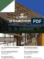 UNITÉ D'HABITATION architectural design analysis