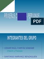 Las Primeras Culturas Peruanas en Céramica