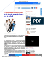 ASTROLOGIA Y PROFESIONES DE LA SALUD