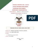 """""""ORGANIZACIÓN DEL PODER JUDICIAL EN EL PERU"""". (3)"""