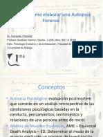 Tema 8. Cómo elaborar una Autopsia Forense