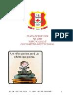 plan lector 2020, reajustado secundaria Cutipa