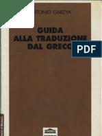 Guida alla traduzione dal Greco Antonio Garzya