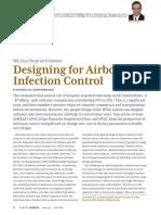 ASHRAE Designing for Airborne Infection Control