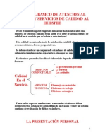Manual Basico de Atencion Al Cliente y Servicios de Calidad Al Huesped