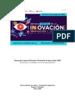 Instructivo general Semana Virtual de la Innovación(1)