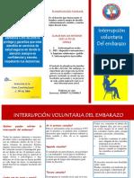 FOLLETO DE INTERRUPCION VOLUNTARIA DEL EMBARAZO MAYALERO